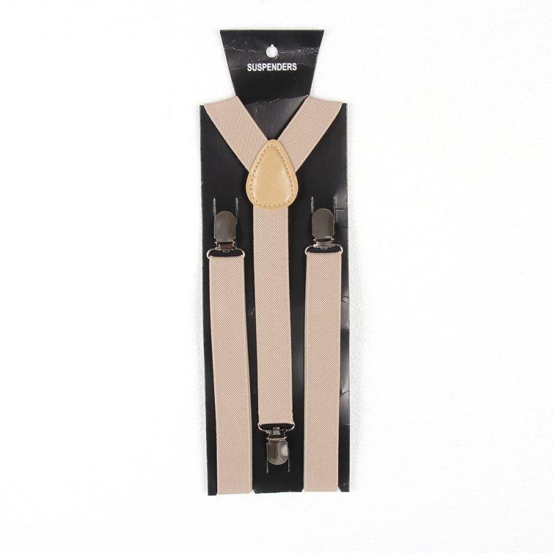Child Boy Girl Toddler Clip-on Suspenders Y-Back Elastic Adjustable Braces 7-15T