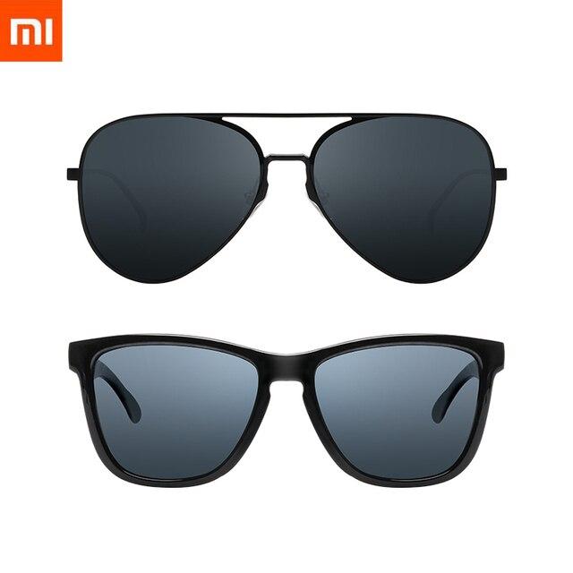 2020 Xiaomi Mijia klasik kare güneş gözlüğü/Pilot Sunglass sürücü açık seyahat adam kadın Anti UV vidasız güneş gözlüğü