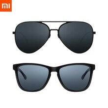 2020 xiaomi mijia 古典的な正方形のサングラス/パイロットサングラスドライブ屋外旅行男性女性抗 uv ネジなしサングラス