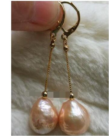 """Fashion 8 mm South Sea Brown Shell Pearl Collier /& Boucle d/'oreille 18/'/"""""""