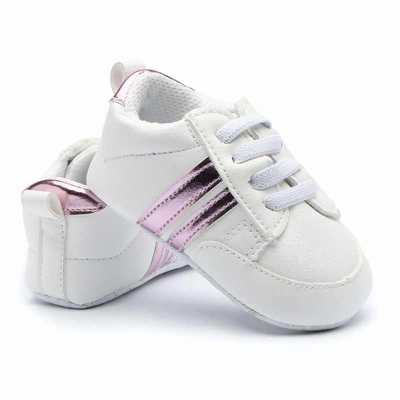 Новинка; милая обувь для маленьких девочек; нескользящая детская повседневная парусиновая обувь для ползунков