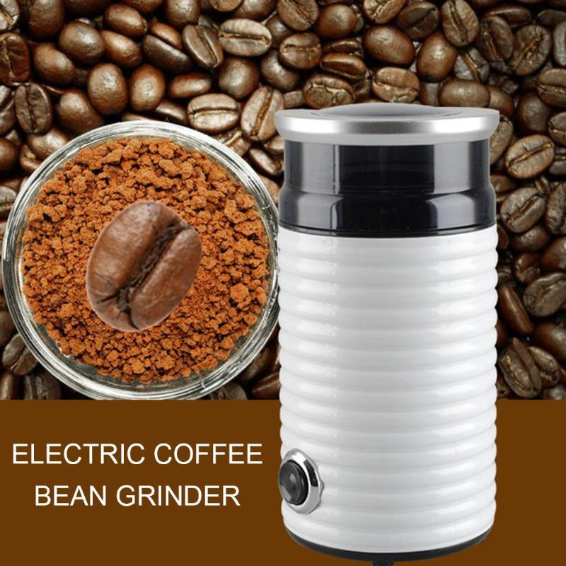 Mini Electric Coffee Grinder Salt Pepper Spice Nuts Seeds Coffee Bean Mill Burr Grinder Household Kitchen Grinding Machine dl 92k coffee grinder mill electric crusher multifunction household electric coffee grinder grinding machine pepper mill delta