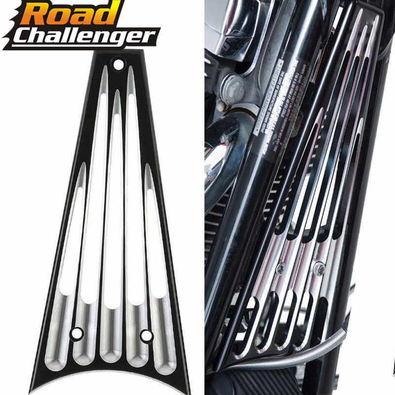 Nero BILLET TELAIO GRILL Per harley Touring Street Glide FLHX Road King 09-13