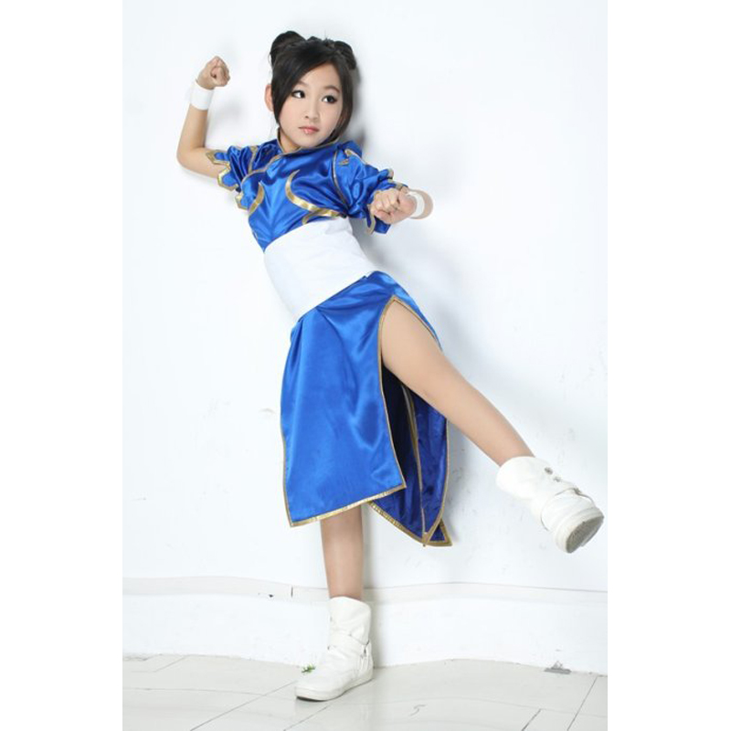 For kids Anime Street Fighter Chun Li Kid Cosplay Dress Costume Girls Children Dress Lolita Filles Small Size Clothes -in Boys Costumes from Novelty ...  sc 1 st  AliExpress.com & For kids Anime Street Fighter Chun Li Kid Cosplay Dress Costume ...