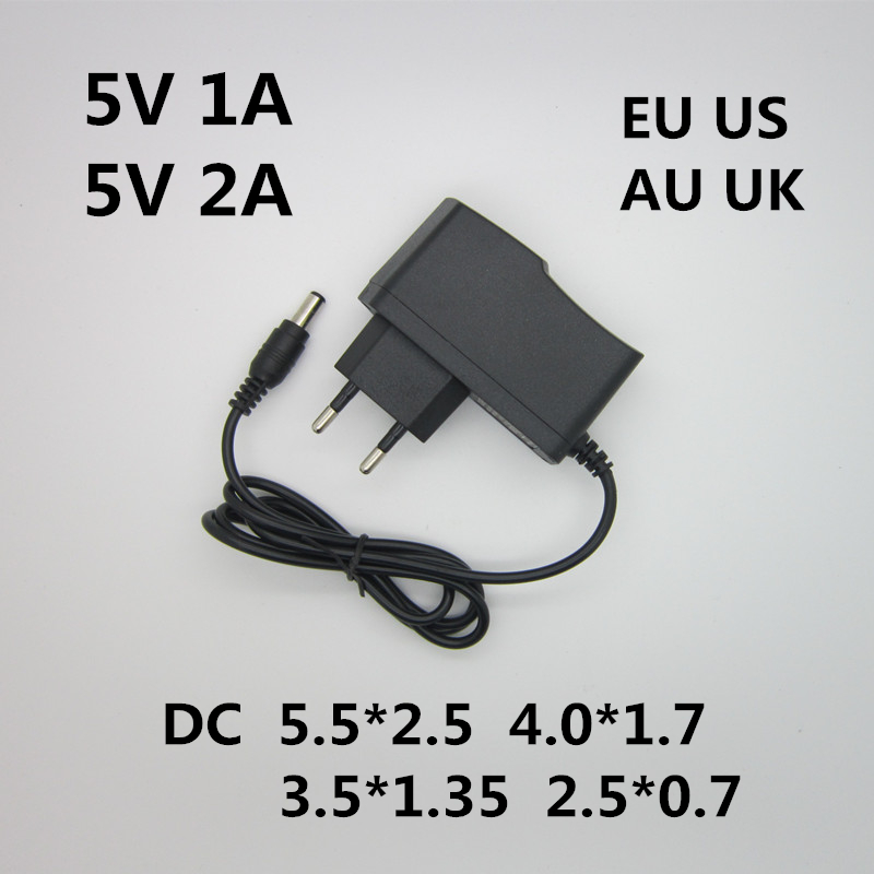 AC 100-240V DC converter adapte 5V 1A 2A 3A EU US AU UK charger Plug Switching Power Supply Power Adapter Various DC Plugs kingwei 1pcs dc 16 8v 1a ac 100v 240v converter switching power adapter supply eu us uk plug charger for 18650 lithium battery