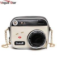 Camera Shape Shoulder Bag Personality Camera Modeling Bag Women Messenger Chain Bag Cheap Women Handbags Purse