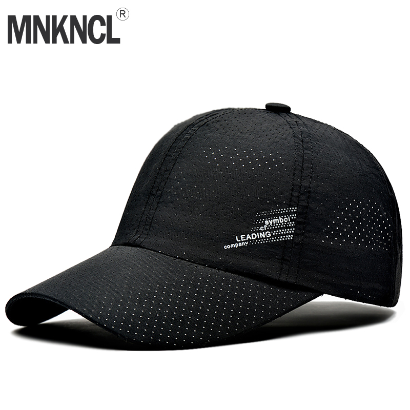 MNKNCL 2018 New Summer   Baseball     Cap   Men Breathable Quick-Drying Mesh Hats Women Sunshade   Caps