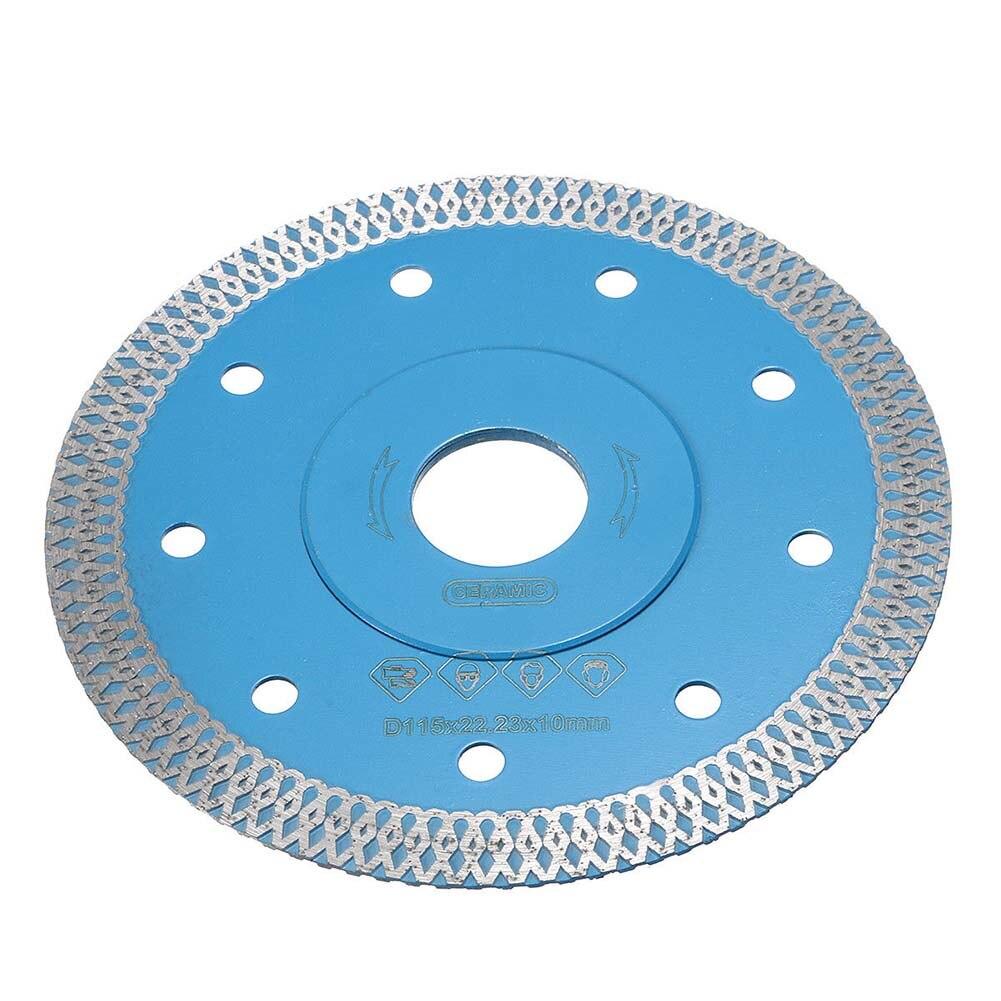 цена на 115/125mm Diamond Cutting Grinder Thin Wet Dry Wheel Disc for Porcelain Tile Marble Stone LB88