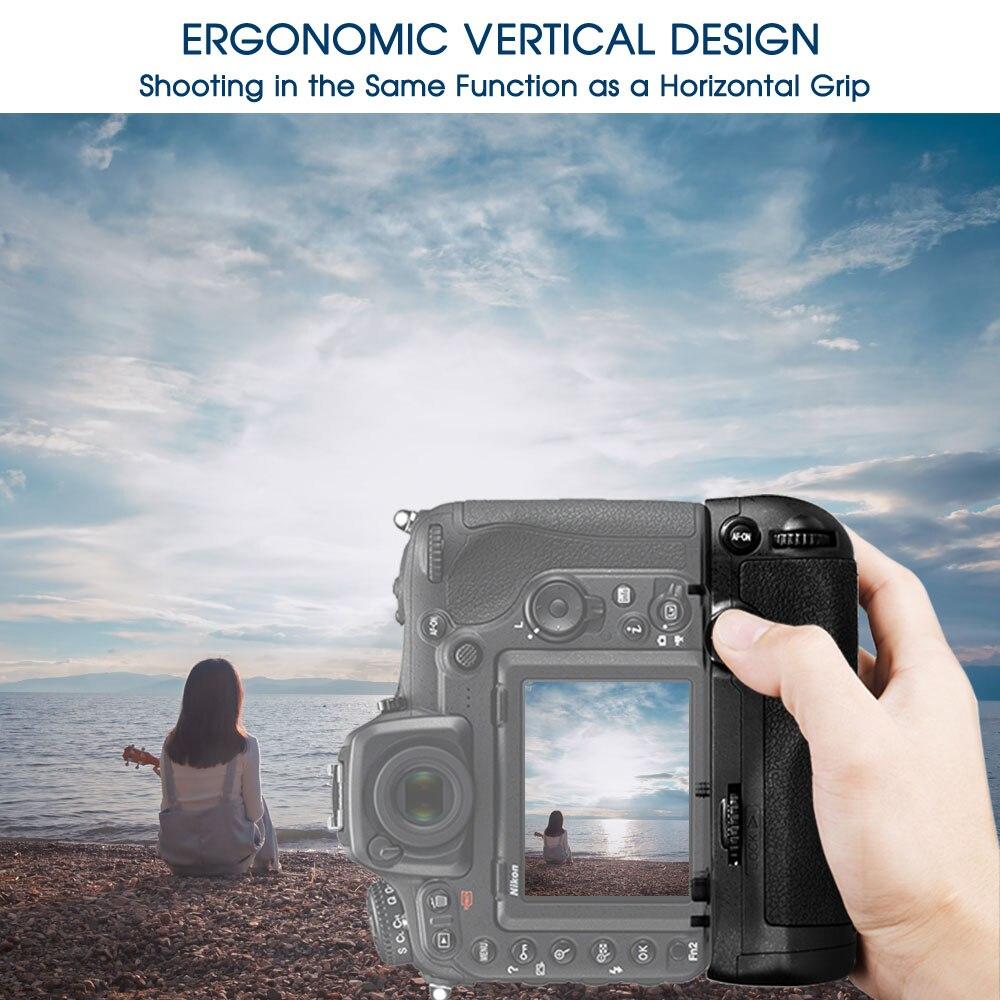 Travor Professionellt Batterihandtag för Nikon D500 DSLR-kamera som - Kamera och foto - Foto 2