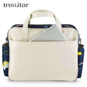 Image 5 - Insular New Style Waterproof Diaper Bag Large Capacity Messenger Travel Bag Multifunctional Maternity Mother Baby Stroller Bags