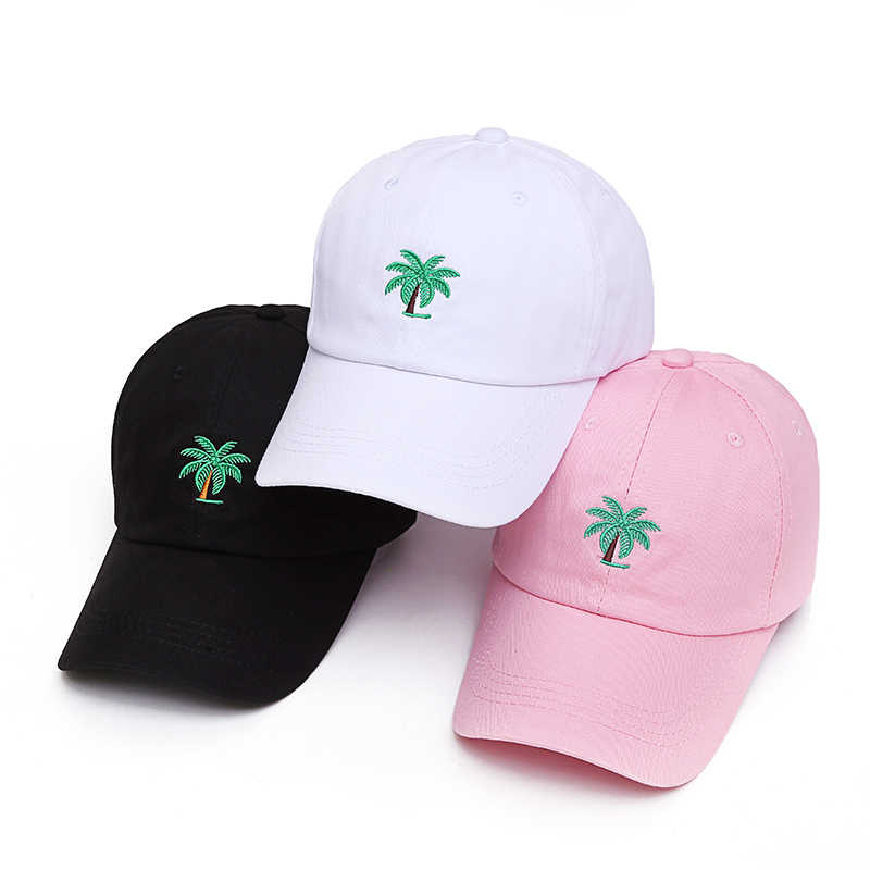 cb55ba1d88b02 ... new Embroidery Palm Trees Curved Dad Hats Take A Trip Baseball Cap  Coconut Trees Hat Strapback Hip Hop Cap Adjustable on Aliexpress.com