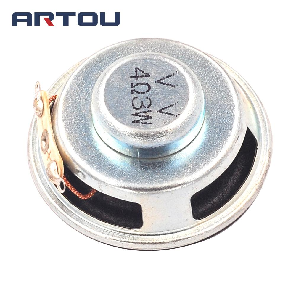 High Quality Speaker Horn 3W 4R Diameter 4CM Mini Amplifier Rubber Gasket Loudspeaker Trumpet