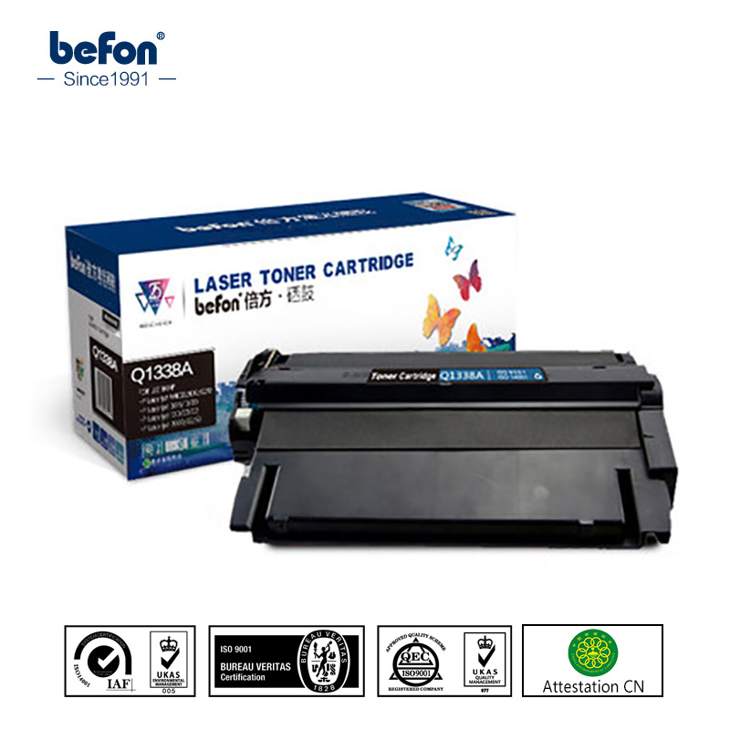 befon Q1338A q1338a 1338a 1338 Toner Cartridges Compatible for HP LaserJet 4200 4200n 4200tn 4200dtn 4200dtns 4200dtnsl 2x non oem toner cartridges compatible for oki b401 b401dn mb441 mb451 44992402 44992401 2500pages free shipping