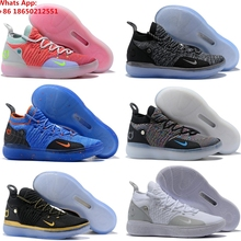 online store 15f96 1e9c2 Zoom KD 11 EP XI EYBL Peach Jam Hot Punch Kevin Durant Men KD11 Basketball  Shoes