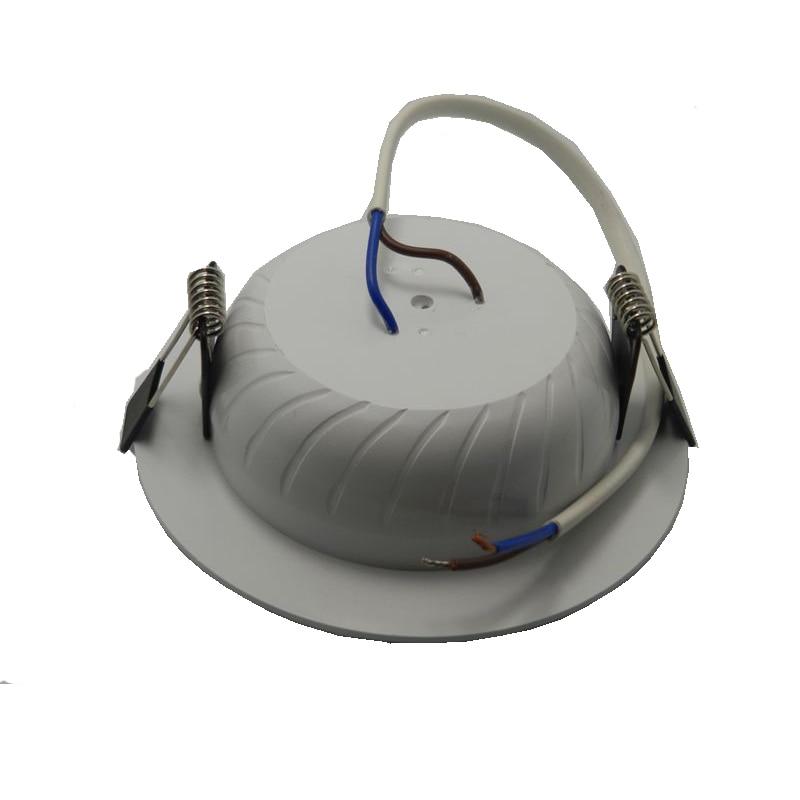 20pcs / tétel LED Downlight CE-meghajtó nélküli 220 V-os, 5 W / - LED Világítás - Fénykép 3