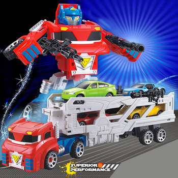 52CM Container Trucks Transformation Car Robot Rescue Bots Jetwing Action Figure Deformation Toys Children Gifts [show z store] zeta za 01 take off armeggedon combiner combaticons bruticus transformation action figure