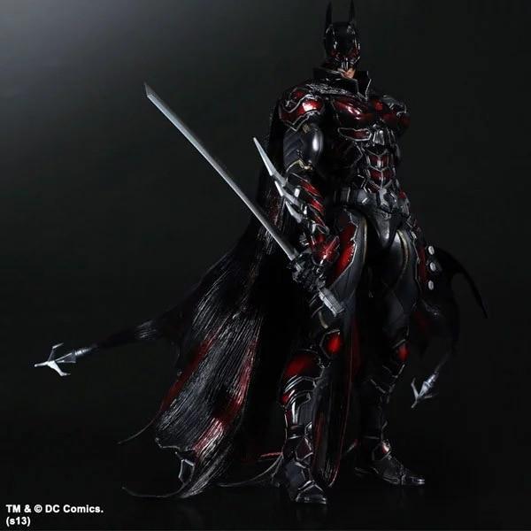 PLAY ARTS 27cm Batman : Arkham Knight Special Red Version Action Figure Model Toys batman arkham knight action figure by crazy toys free shipping