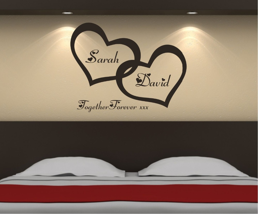 Popular Marriage Wall DecalsBuy Cheap Marriage Wall Decals Lots - Custom made vinyl wall decals