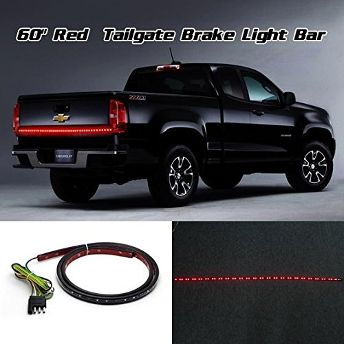 60 LED Red Light Bar Strip Running Brake Turn Signal Light for 1999-2014 Ford F-150 F-250 F-350 F-450 Super Duty for 2013 2014 year for ford raptor f150 led strip head light with full led turn signal light black color