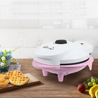 Gustino Automatic Waffle Maker Machine Dual Indicator Lights, Double Sided Controllable Baking Household Tool