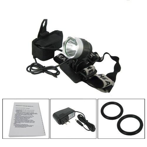 1200 Lumen Super Bright CREE XML T6 LED Bike Light Headlamp, Waterproof 3 Mode Bicycle Flashlight outdoor super bright rechargeable hunting flashlight cree xml l2 60w led portable spotlight with hight middle flash model