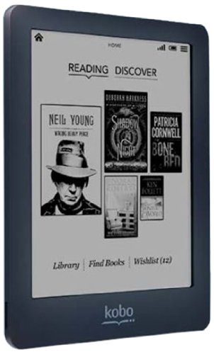 Original Kobo Glo eBook Reader E-ink 6 inch 1024x768 WIFI touch screen Built in Light 2GB eReader, not Glo HD