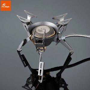 Image 2 - 火メープルキングコングtitaniumアウトドアキャンプハイキング折りたたみバーナー分割ガスストーブ機器199グラム2450ワットfms 100t