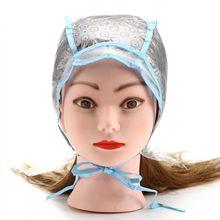 2 шт./компл. волос колпак для окраски волос+ крюк раскраска подсветка тонирующие наклейки крышка тканевый пластырь для дома Применение Pro Парикмахерская Инструменты для укладки волос