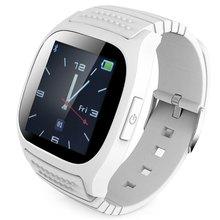 Rwatch M26 Смарт Часы Bluetooth Smartwatch M26 со СВЕТОДИОДНЫМ Дисплеем Плеера Шагомер для Android IOS Мобильный Телефон
