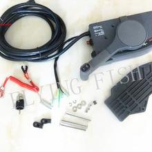 703-48205-16-00 703-48207 пульт дистанционного управления в сборе для Yamaha подвесных моторов Рулевая Система 10 P переключения, правая рука