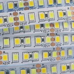 Image 3 - SZYOUMY tira Flexible de luces LED de doble Color, SMD 2835 CW/WW, 12V, 24V, 180leds/m