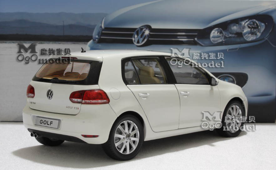 Wholesale Original Vw Volkswagen GOLF 6 Six Generations Of TSI White 118 Model Car In Diecasts Toy Vehicles From Toys Hobbies On Aliexpress