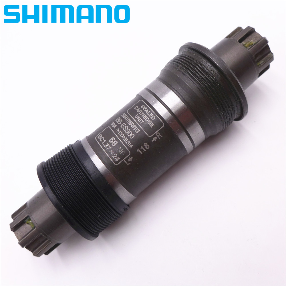 SHIMANO BB ES300 ES25 Octalink Bottom Bracket For MTB Mountain Bike Bicycle 68x118mm/126mm