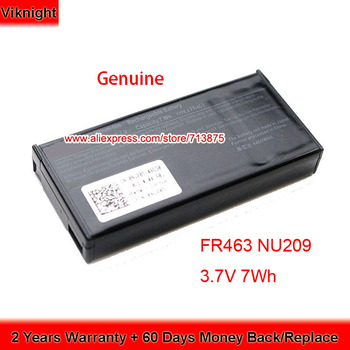Original FR463 Battery for Dell Perc H700 P9110 U8735 PERC5I PERC6I NU209 Poweredge RAID Controller 3.7V 7Wh image