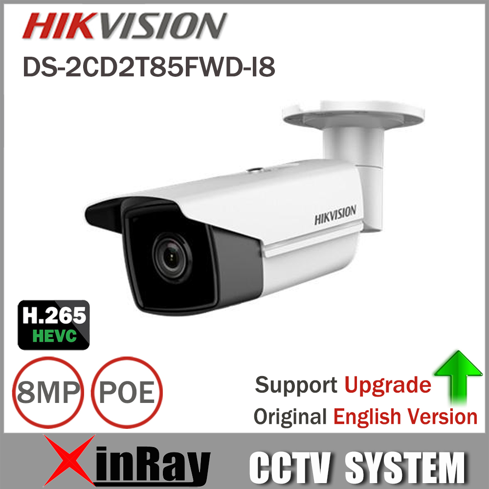Hikvision DS-2CD2T85FWD-I8 Bullect Camera 8MP POE CCTV Camera With 80m IR Range Upgrade Version Of DS-2CD2T85FWD-I5 cd диск fleetwood mac rumours 2 cd