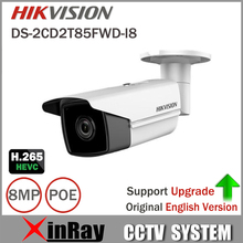Hikvision DS-2CD2T85FWD-I8 Bullect Kamera 8MP POE Cctv-kamera Mit 80 mt IR Reichweite Upgrade-Version Von DS-2CD2T85FWD-I5