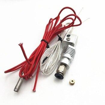 Быстрая доставка! 12/24 V шестиугольник АО все металлические Боуден/прямой экструдер для DIY RepRap Lulzbot 3 D принтер 1,75/3,00 мм