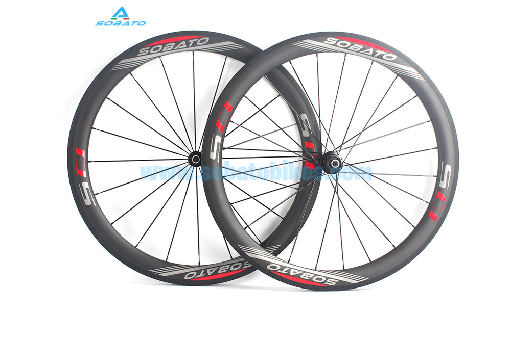 2016 Newest full carbon bike road clincher light wheelset 700c rims racing bicycle wheels width 50mm basalt brake surface carbon wheels 700c 88mm depth 25mm bicycle bike rims 3k ud glossy matte road bicycles rims customize carbon rims