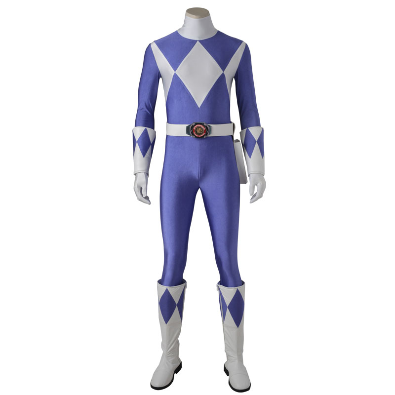 Costume For Tricera Ranger Dan Zyuranger Cosplay Costume Outfit Onesies Jumpsuit Halloween Adult Party Custom Made With Boots