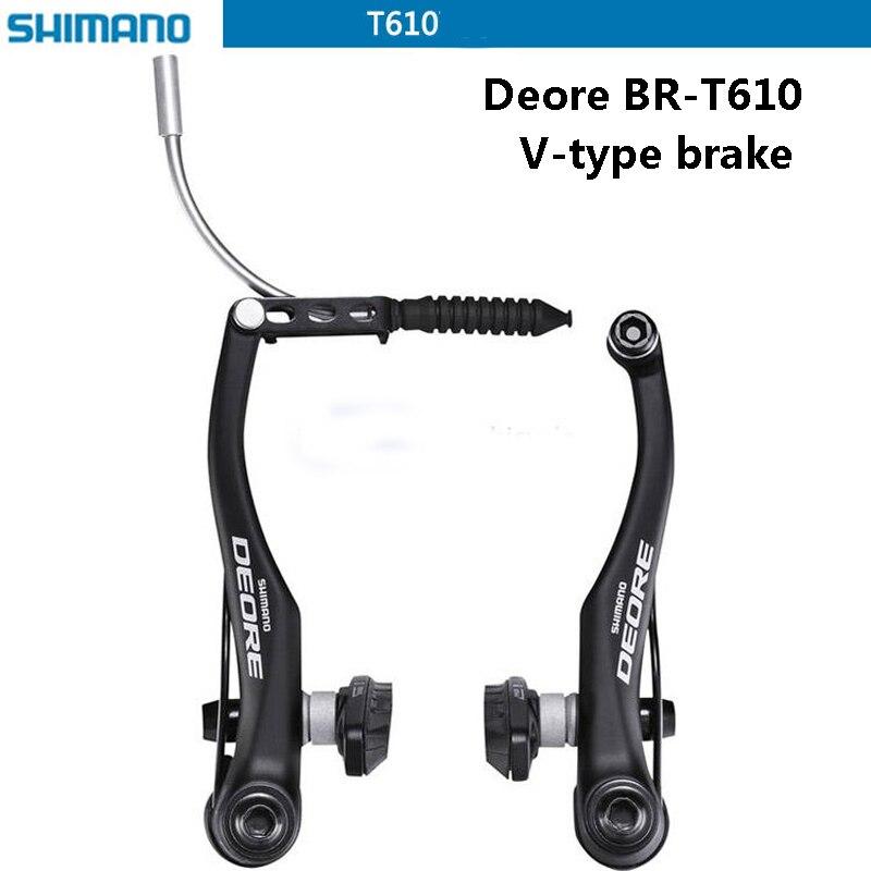 SHIMANO DEORE vélo BR-T610 V étrier de frein VTT v-freins aluminium V frein pièces de vélo