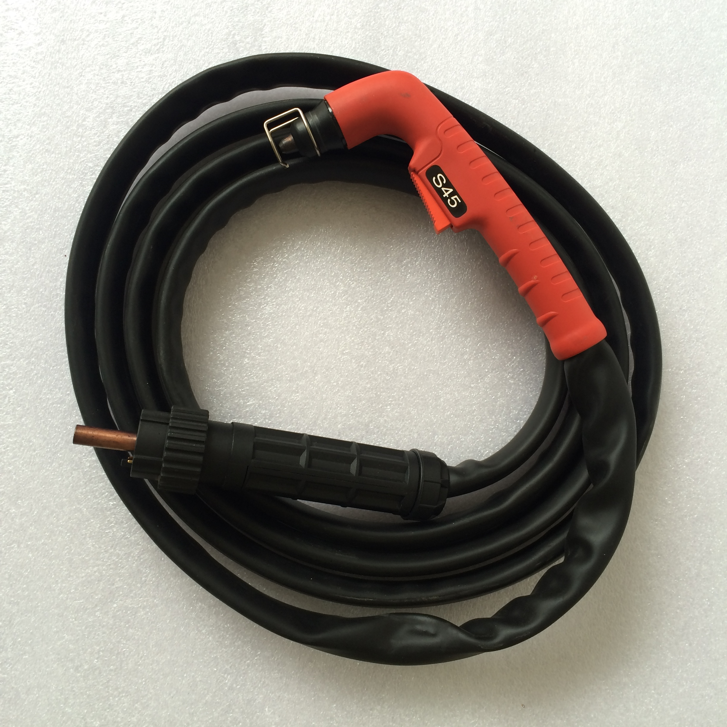 Trafimet Ergocut S45 Plasma Cutter Consumables Torch Complete 4M Cable Pilot Arc with Euro Central Connector