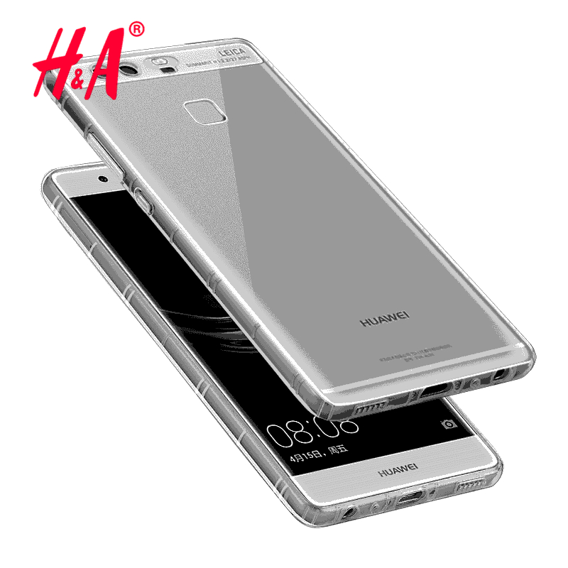 For huawei P8 lite Case Slim Crystal Clear TPU Silicone Protective sleeve for huawei Ascend P6 P7 P8 P9 lite cover cases