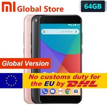 Global Version Xiaomi Mi A1 MiA1 Snapdragon 625 Octa Smartphone 4GB 64GB Fingerprint FDD 5.5″ Android One Dual 12.0MP Camera