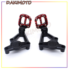 for HONDA XADV  750 2017 2018 Motorcycle Accessories Folding Rear Foot Pegs Footrest Passenger Set