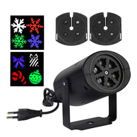 Snowflake Laser Projector Lamps Home Indoor LED Stage Light Bowknot Jingle Bell Holiday Party Christmas Decoration