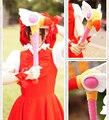 Cardcaptor Magic Girl Sakura stick Japan Anime Action Figure Sakura Card Captor plush staff Wands Stave cosplay best gifts toy