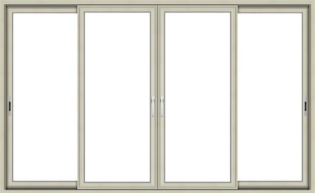 Marco de aluminio panel vidriada puerta corredera de for Paneles de aluminio para puertas