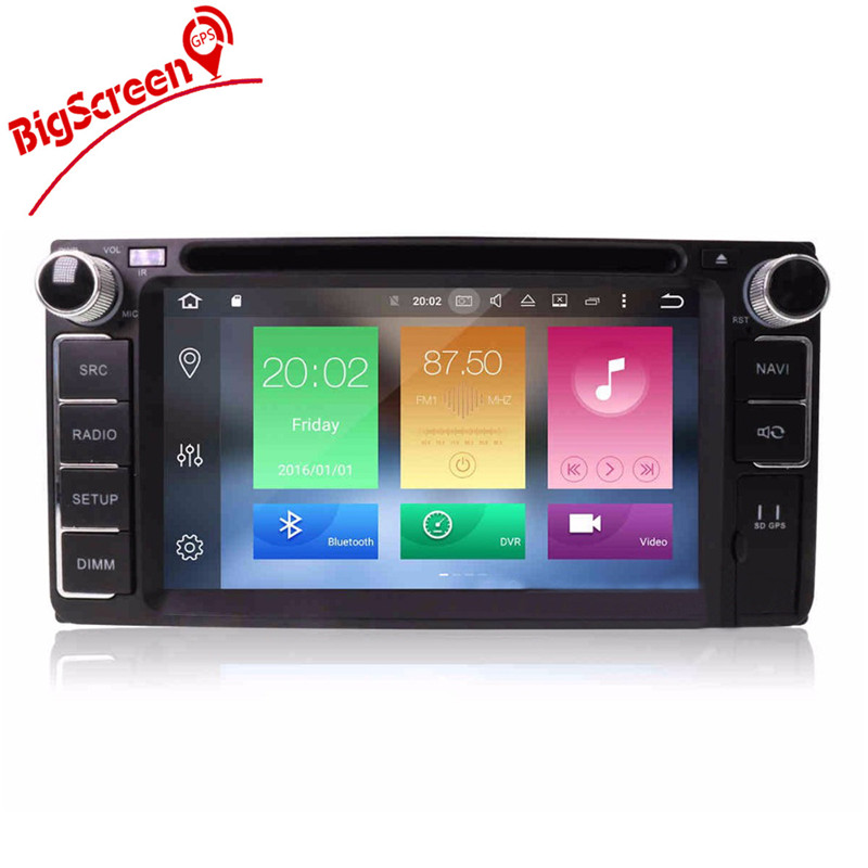 Clearance Android8.0 7.1 System Octa 8 Core Car DVD Player GPS Navigation For Most of Toyota Car Headunit Multimedia Autoradio Monitor 1