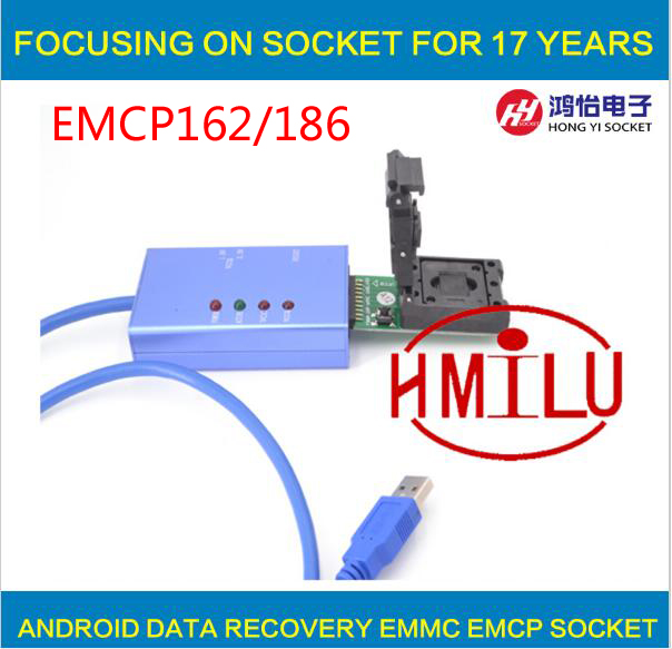 все цены на  EMCP162 186 socket for your Choice data recovery tools for android phone  онлайн