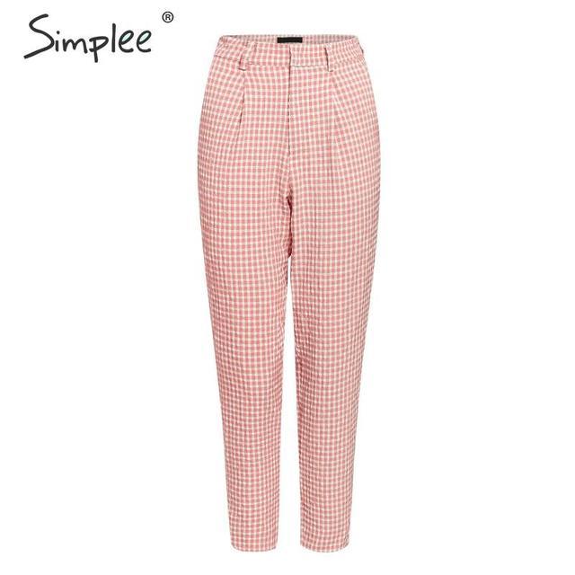 SIMPLEE Moekad püksid